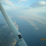 Approacht to Zadar with Cessna
